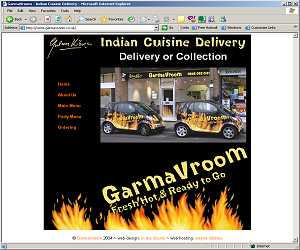 GarmaVroom Website