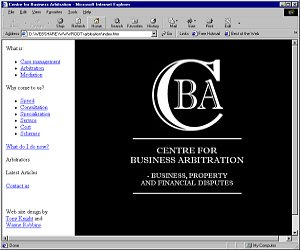 Centre for Business Arbitration